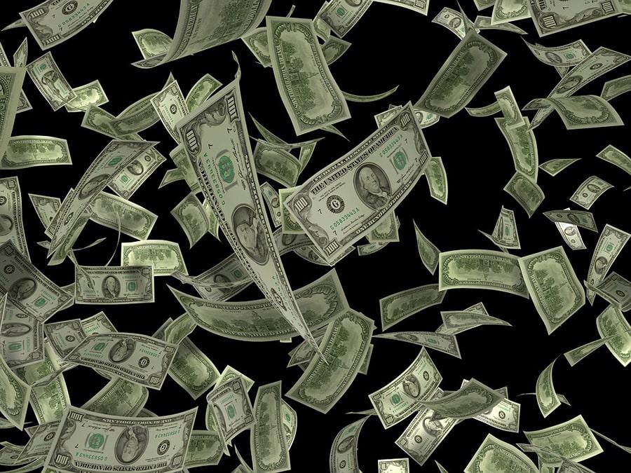Mơ thấy người chết cho bạn tiền đô la