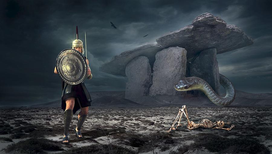 Mơ thấy 2 con rắn tấn công mình