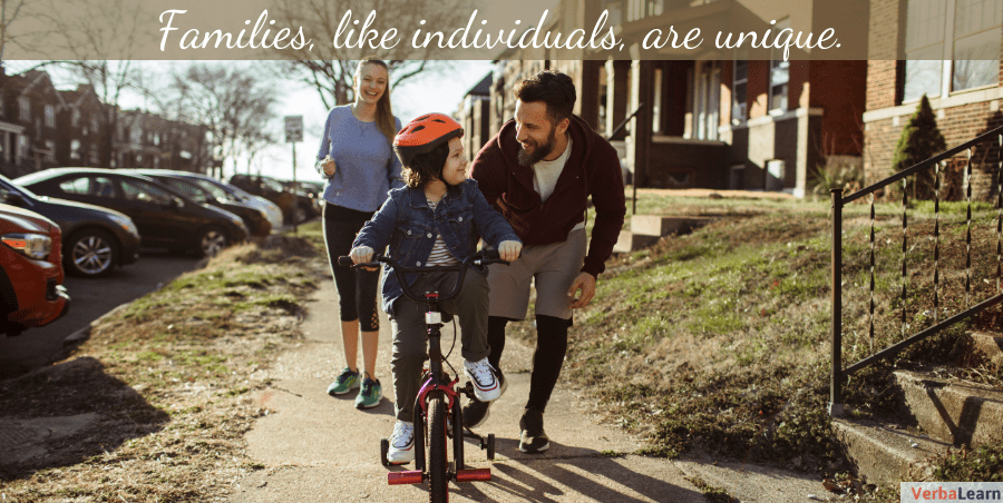 Families, like individuals, are unique